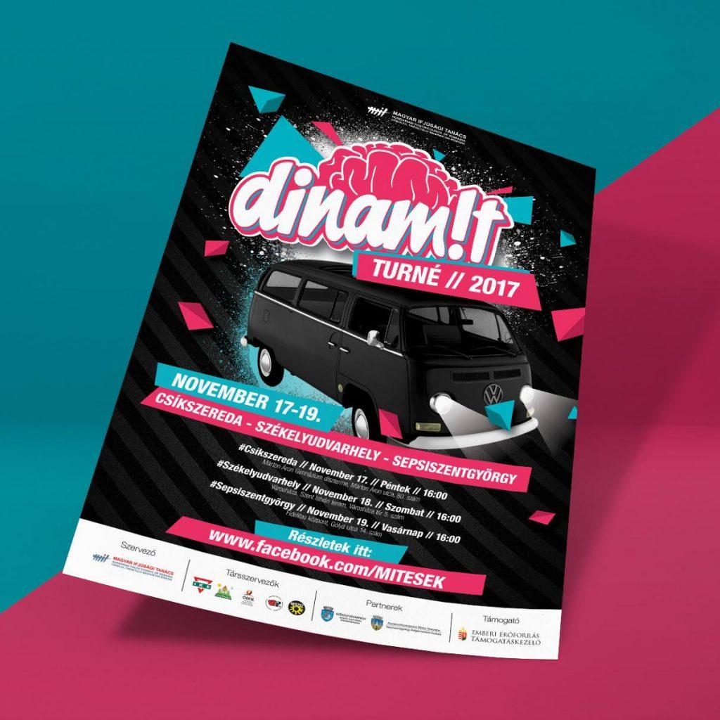 Dinamit Konferencia 2017 Plakat Design