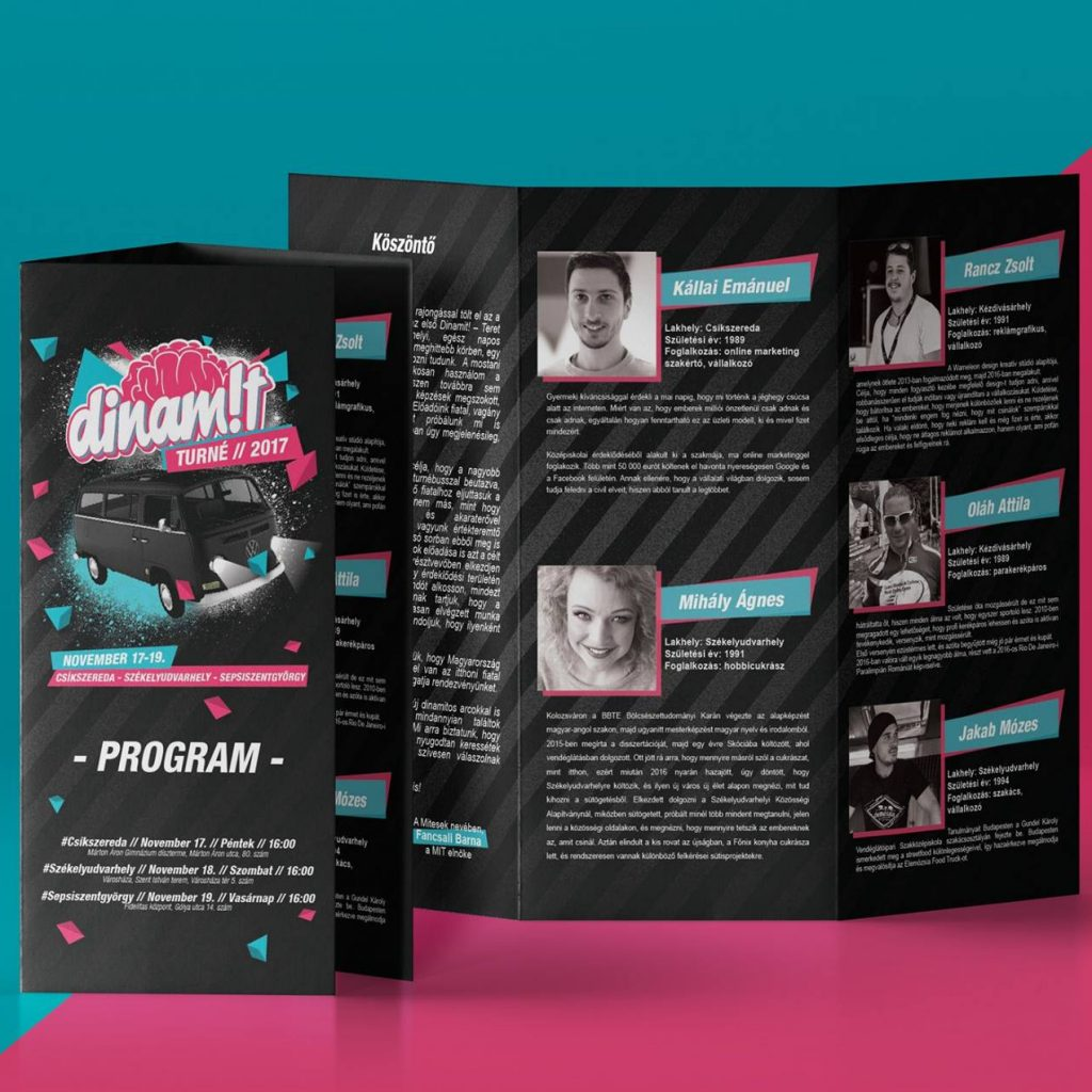 Dinamit Konferencia 2017 Szorolap Design