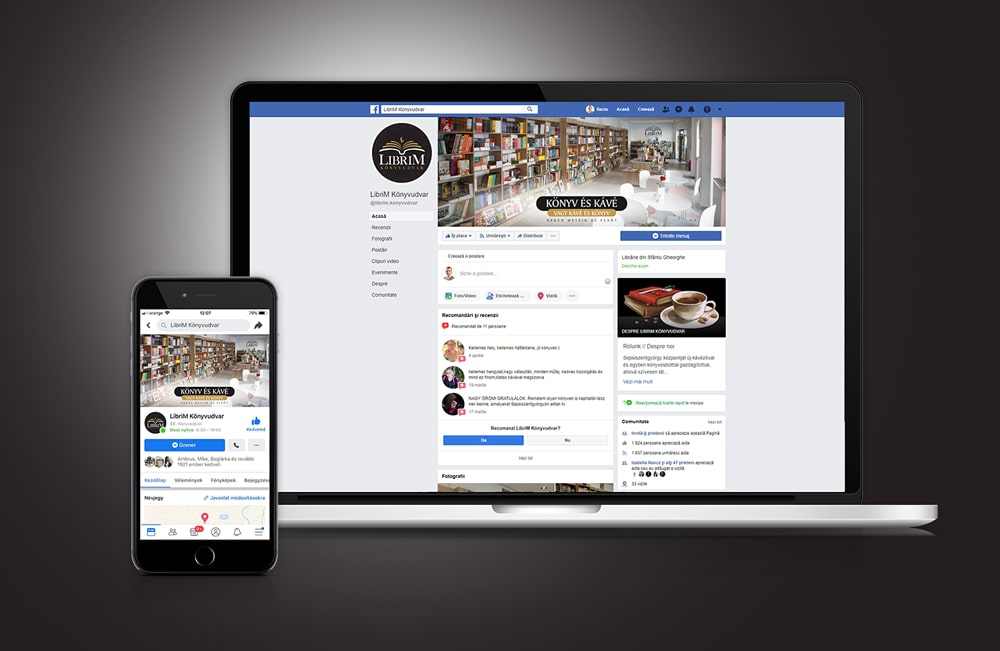 LibriM facebook oldal