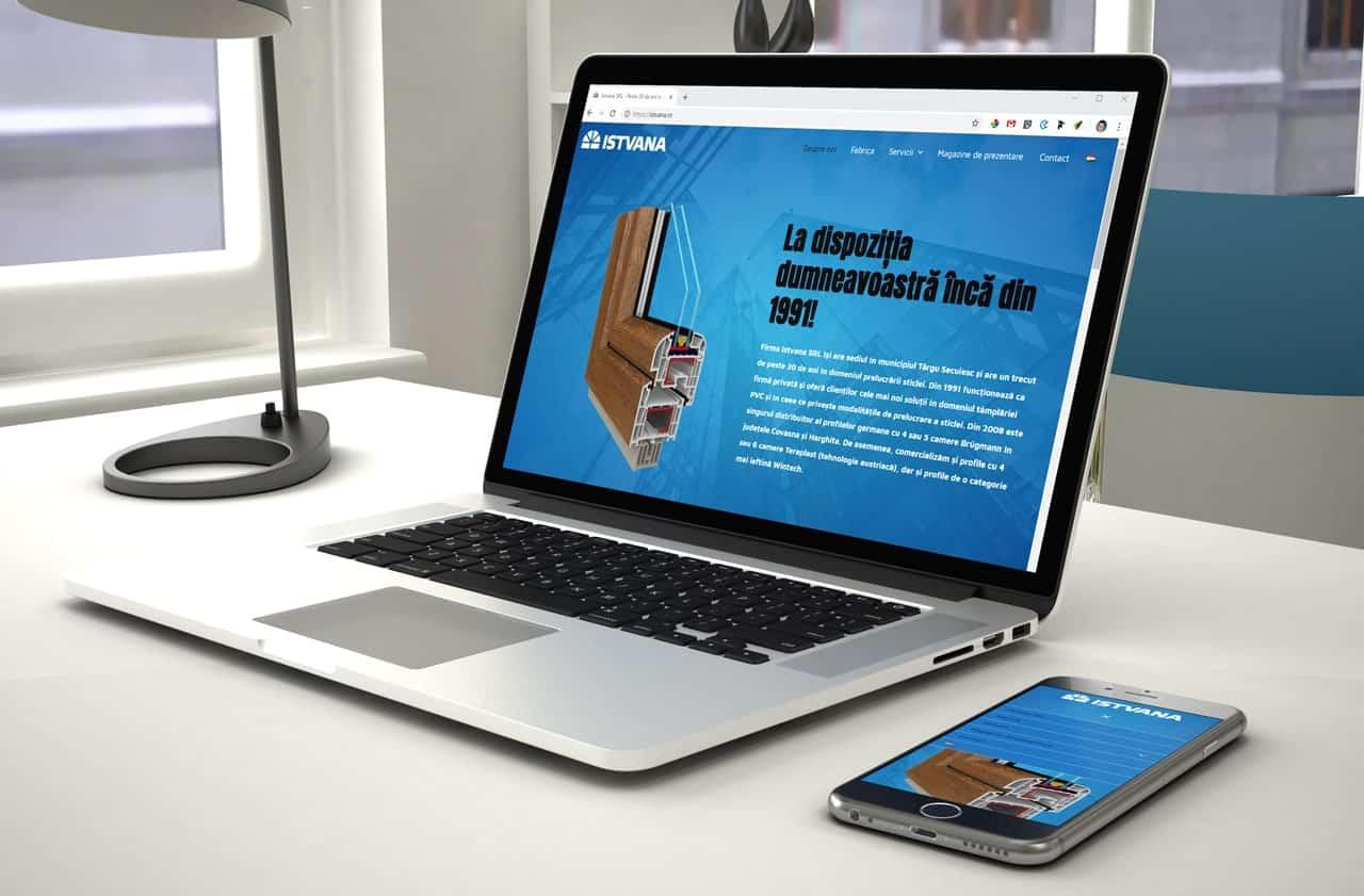 Istvana weboldal