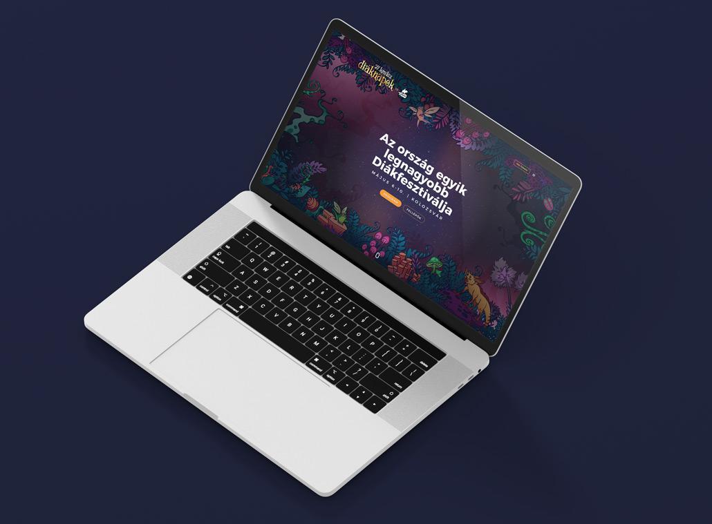 KMDSZ Diaknapok webdesign